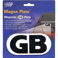 TRAVEL SPOT Magnetic GB Plate
