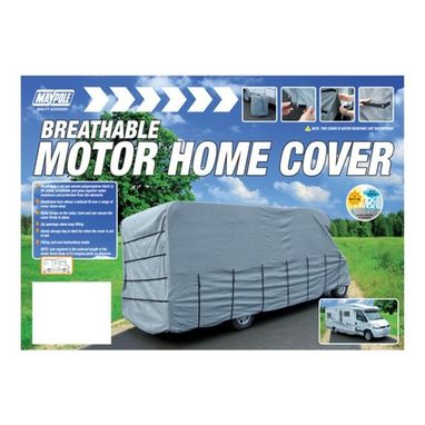 MAYPOLE Motor Home Cover - 6.5m-7.0m - Grey