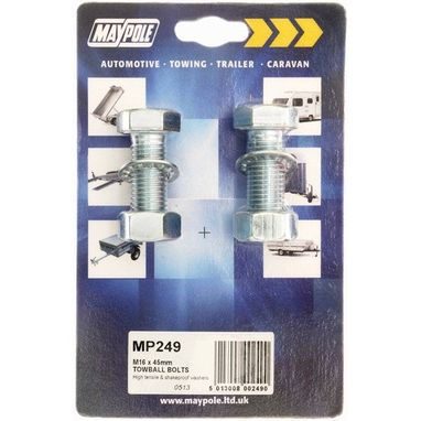 MAYPOLE Nuts & Bolts - M16 - 45mm
