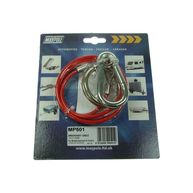MAYPOLE Breakaway Cable - Plastic Coated - Red