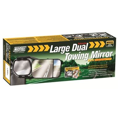 MAYPOLE Towing Extension Mirror - Dual Glass