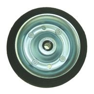 MAYPOLE Jockey Wheel Spare Wheel - Solid Tyre - 160mm - For MP433