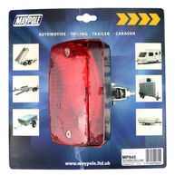 MAYPOLE Rear Fog Lamp - Bracket Mounted