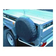 MAYPOLE Trailer Spare Wheel Cover - For 10in. Diameter Wheels