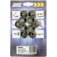 MAYPOLE Trailer Cover Plastic Button Cleats