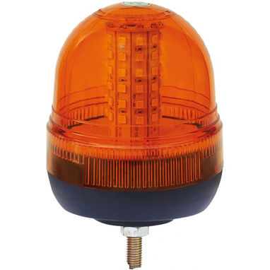 MAYPOLE LED Hazard Beacon - Single Bolt Fixing - 12/24V