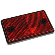 MAYPOLE Reflectors - Oblong - Red