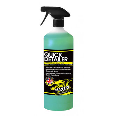 POWER MAXED Power Maxed Quick Detailer 1Ltr Ready To Use