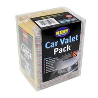 KENT Car Valet Pack - 8 Piece Set