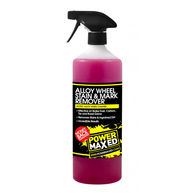 POWER MAXED Power Maxed Alloy Wheel Stain And Mark Remover 1Ltr Ready To Use
