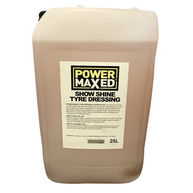 POWER MAXED Power Maxed Tyre Dressing 25Ltr Ready To Use