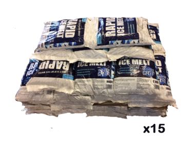 Rapid Ice Melt Grit - 15 x 10kg - Pallet of 15