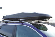 Summit 440 Litre Roof Box Quick Release, Gloss Black