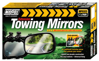 Maypole Extension Towing Mirrors ( PAIR )