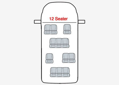 Ford Transit 11 Seater Minibus - Seat Covers