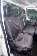 Iveco Daily Drivers & Double Passenger Seat Covers Front Set 2014 Onwards
