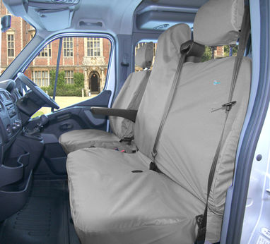 Vauxhall Movano Seat Cover Drivers & Double Passenger 2010 Onwards