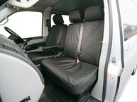 Volkswagen Transporter T5 and T6 - Front Double Passenger Seat Cover
