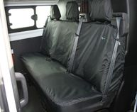 Ford Transit 2014 Onwards and Transit Custom - Three Person Crew Seat Cover
