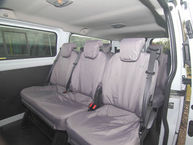 Ford Transit Custom Kombi and Tourneo Custom - Folding Three Person Rear Seat Cover