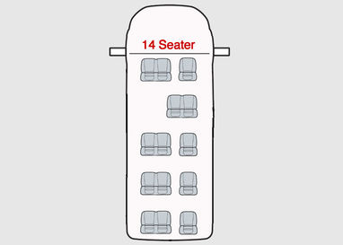 Ford Transit Minibus Seat Covers - 14 Seater Up To 2014