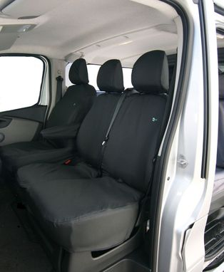 Vauxhall Vivaro 2014 Onwards - Non Folding Double Passenger