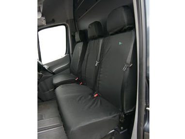 Mercedes Sprinter 2006-2017 Heavy Duty Double Passenger Seat Cover - Town & Country