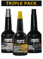 Forte Diesel System Treatment Kit Triple pack