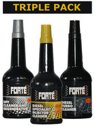 Forte Diesel System Cleaning Kit Triple Pack