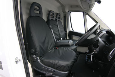 Peugeot Boxer 2006 Onwards Heavy Duty Drivers Seat Cover - Town & Country